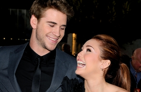 Liam Hemsworth és Miley Cyrus 2015