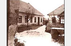 A cinkotai ház, ahol élt