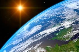 Napfogyatkozás az űrből