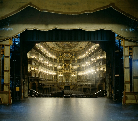 Margravial Operaház, Bayreuth.