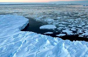 Egyre kisebb területet foglal el a jég