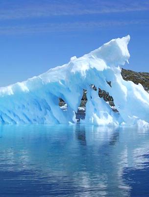 Olvadó jéghegy