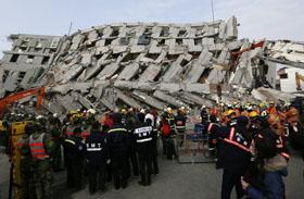 Tajvani földrengés