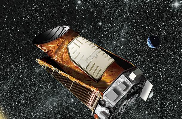 A Kepler űrtávcső a NASA grafikáján