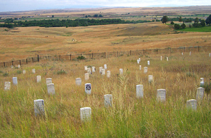 Little Bighorn Battlefield emlékmű, USA