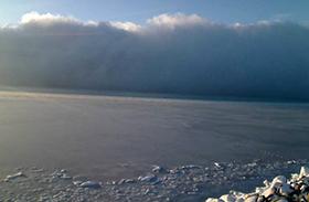 Balatoni ködfelhő