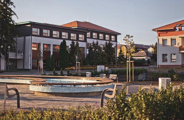 Bük város központja