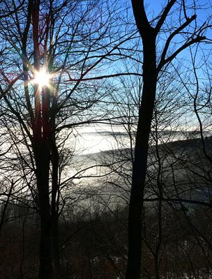 Napfelkelte a téli Mátrában
