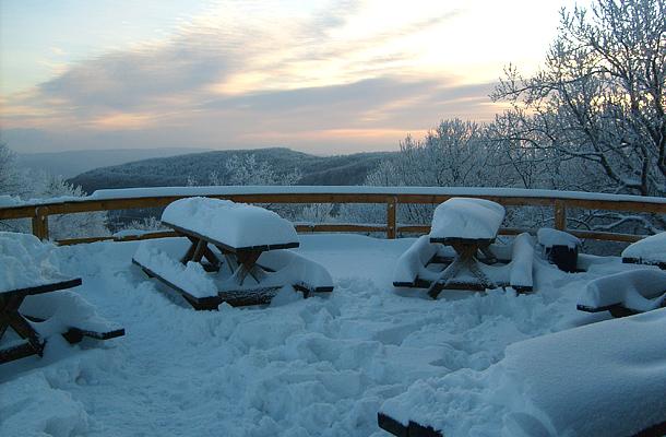 Tél a Nagy-Hideg-hegyen