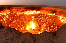 Darvaza-kráter, a pokol kapuja