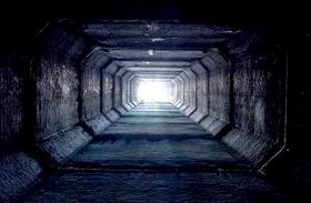 Föld alatti város Las Vegasban