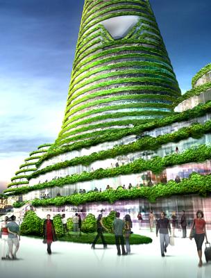 Szöul futurisztikus városrésze