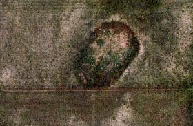 Furcsa, torz koponya jelent meg az oklahomai mezőn: a Google Earth legbizarrabb találatai