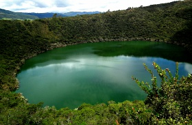 Guatavita-tó, Kolumbia