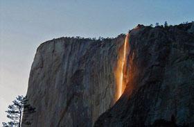 Yosemite Nemzeti Park vízesés