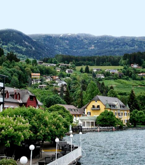Képeken Karintia 2 varázslatos ékszerdoboza: Millstatt és Klagenfurt