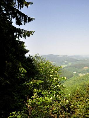 Rothaargebirge régió