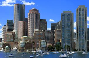 Bostoni felhőkarcolók