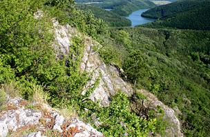 A szurdok sziklái
