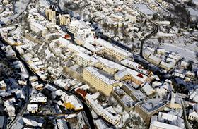 Magyar városok télen