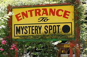 Mystery Spot nincs gravitáció