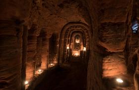Nyúlüreg barlang Shropshire