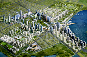 A jövő városa Dél-Koreában: Songdo International Business District