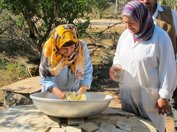 Tunézia gasztronómiája változatos, ételeik elkészítésekor sokféle fűszert használnak, alapanyagaik közé tartozik a bárányhús, a hüvelyesek, a magvak, a tojás és természetesen mindenféle hal. A legnépszerűbb köret a lepénykenyér, melynek elkészítése és fűszerezése térségenként is különbözik.