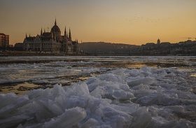 Hófedte téli magyar tájak