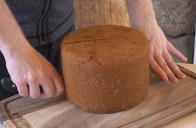 Vulkánon süt kenyeret