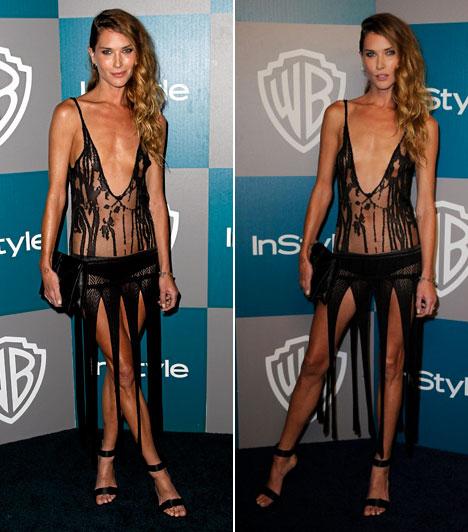 A 2012-es Golden Globe-gála legcsúnyább ruhái
