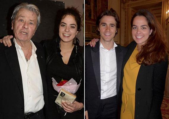 Ez a 25 éves bájos hölgy Alain Delon egy szem lánya, Anouchka, aki különleges szexepillel jött a világra: egyik szeme barna, a másik kék. Az egyik fotón édesapjával, míg a másikon szerelmével Juliannel látható.