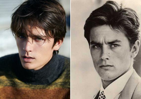 Ő az egyetlen fia, aki a színész teljes nevét magán viseli, azonban a kapcsolatuk sohasem volt zökkenőmentes. Az indulatos színész sokszor volt agresszív, így kiskorában Alain-Fabien tartott az apjától.