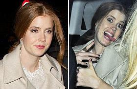 Amy Adams részeg