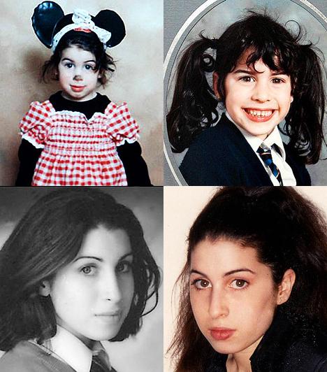 Amy Winehouse élete képekben