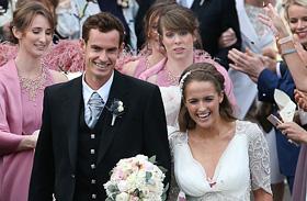 Andy Murray és Kim Sears esküvője