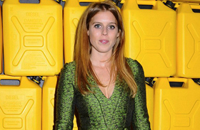 Beatrice hercegnő zöld ruha