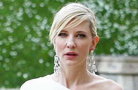 Cate Blanchett fehér estélyiben a Windsor kastélyban