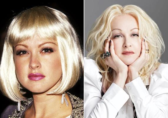 Majdnem 40 év eltelt a két fotó készítése óta, de az énekesnő alig változott valamit - még most is olyan fiatalos, mint huszonévesen.