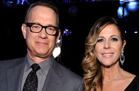 Critics' Choice 2014 sztárpárok Tom Hanks Rita Wilson