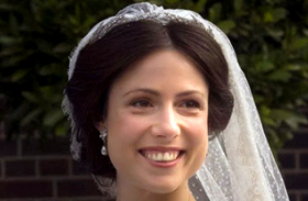Cservenyák Viktória Jaime herceg esküvő holland