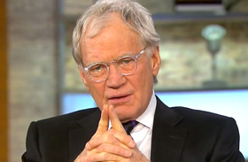 David Letterman kopasz