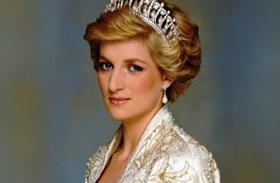Diana hercegnő gyerekkori fotó
