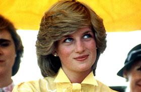 Diana hercegnő sárgában