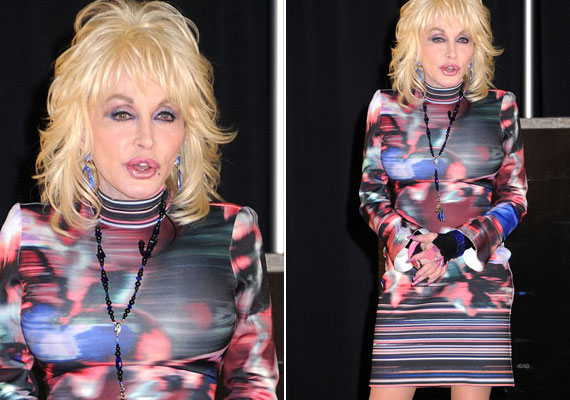 Dolly Parton 2016 januárjában lett kereken 70 éves. Alakját elnézve bőven letagadhatna korából, ma is elképesztően dögös - az arcplasztikázás viszont lehetett volna kicsit kevesebb.