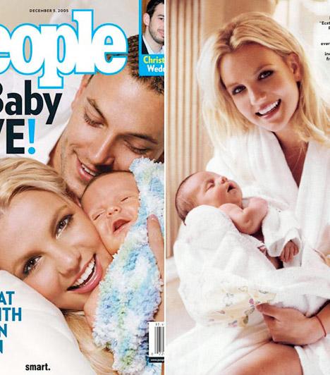 Első babafotók címlapon