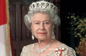 Erzsébet királynő családi fotó