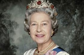 Erzsébet királynő az évek során