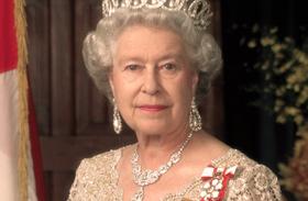 Erzsébet királynő fiatalon