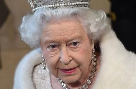 Erzsébet királynő vörös szem